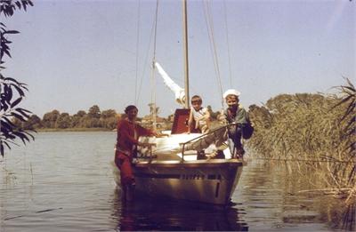 Dagra II – 1989 dzień 8 – kursy żeglarskie