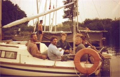 Dagra II – 1989 dzień 9 – kursy żeglarskie