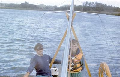 Dagra II – 1989 dzień 2 – kurs żeglarski